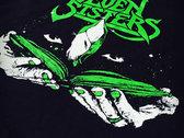 """""""Greenie"""" Ringer T-shirt photo"""