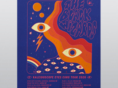 Kaleidoscope Eyes Tour Poster main photo