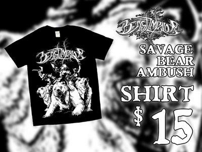 """""""Savage Bear Ambush"""" T-Shirt main photo"""