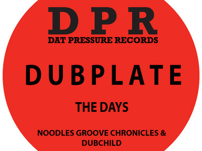 Groove Chronicles The Days (4x4 mix) Vinyl Dubplate Exclusive To Bandcamp* main photo