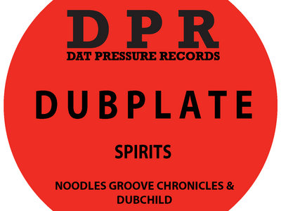 Groove Chronicles Spirits (2step mix) Vinyl Dubplate Exclusive To Bandcamp* main photo
