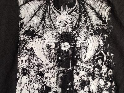 """Phobia """"Decades of Blasphemy"""" Tshirt main photo"""