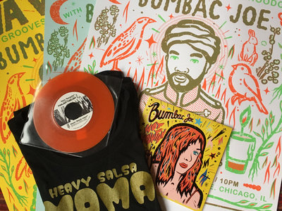 Combo T-shirt + Poster + 2 Vinyls main photo