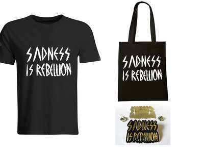 Lebanon Hanover Sadness Package - T-Shirt (men or women), Tote bag + Metal pin - Save 12% main photo