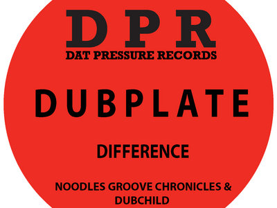 Groove Chronicles The Difference (2step) Vinyl Dubplate Exclusive To Bandcamp* main photo