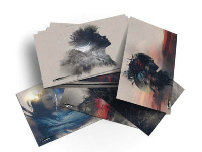 "Offworld 5x7"" Postcards - Set of 8 main photo"