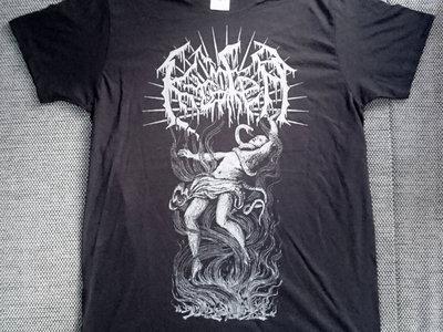 "T-Shirt black ""Vortex"" main photo"