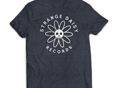 Strange Daisy Records - Logo Shirt (Heather Navy) main photo
