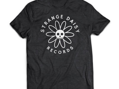 Strange Daisy Records - Logo Shirt (Heather Black) main photo