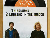 """Fireworks"" / ""Looking In The Window"" 7-inch photo"