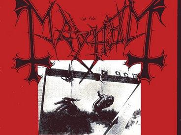 MAYHEM - Deathcrush CD main photo