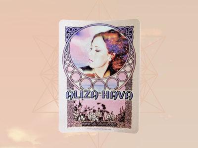 Art Nouveau Sticker main photo