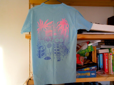 Screen-printed BLUE t-shirt main photo