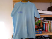 Screen-printed BLUE t-shirt photo