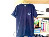 Screen-printed DARK BLUE t-shirt photo