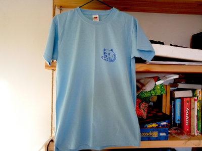 Screen-printed BLUE t-shirt main photo