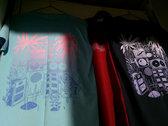 Screen-printed BLUE t-shirt photo
