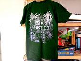 Screen-printed GREEN t-shirt photo