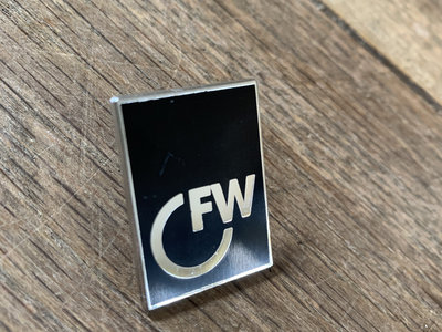 First Word Enamel Pin Badge main photo