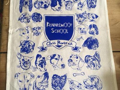Dog Tea Towel by Rhi Lee Design main photo