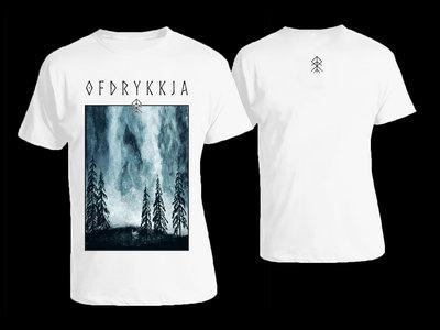 Ofdrykkja - Gryningsvisor Shirt & Girlie Shirt (white) main photo