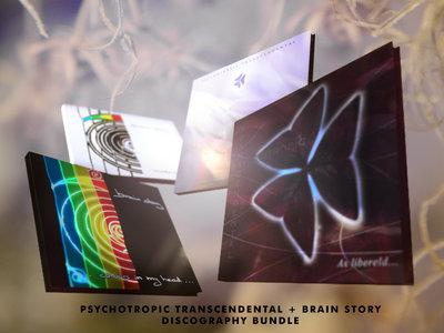 Psychotropic Transcendental + Brain Story discography bundle main photo