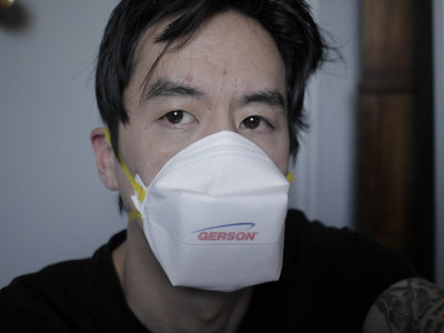 Used N95 Respirator Mask, Infected with COVID-19 main photo