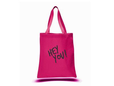 HEY YOU! PINK TOTE BAG main photo