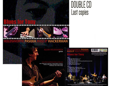 BLUES FOR TONY by HOLDSWORTH PASQUA HASLIP WACKERMAN (2CD) - Last Copies Available main photo