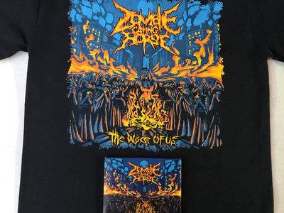 """The Worst of Us"" album cover shirt + cd combo main photo"