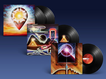 3 x Vinyl bundle ('Warm Pad, Sharp Stab', 'Photons in Fashion' & 'Solar Dream Reel') main photo
