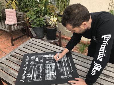 """""""These Machines Kill Fascists"""" Signed Custom Screen Printed Poster main photo"""