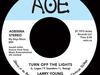 "Larry Young - Turn Off The Lights / Fuel The Fire [7"" Vinyl] main photo"