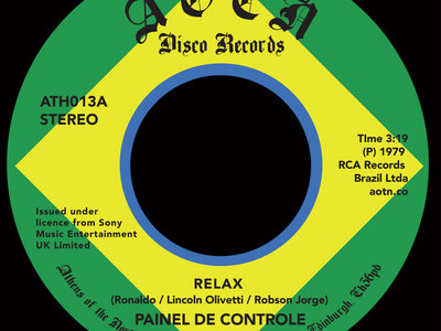 "Painel De Controle - Relax / Malandrinha [7"" Vinyl] main photo"