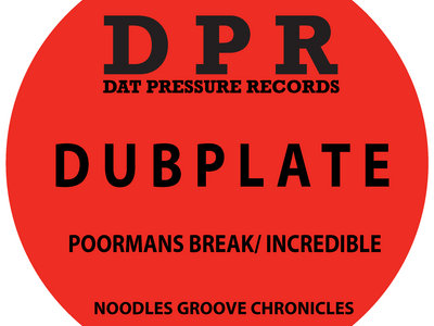 Groove Chronicles Poormans Break / Incredible Vinyl Dubplate Exclusive To Bandcamp* main photo