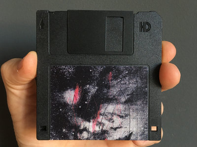 """Limited edition 3.5"""" Floppy Disk (black) main photo"""