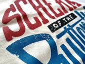 T-Shirt Vintage-Logo Sand-Color photo
