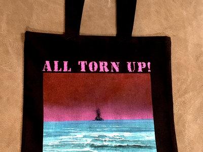 "All Torn Up! - ""Wake"" Tote bag main photo"