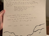 "Handwritten Lyrics - Songs from ""Carnival"" photo"
