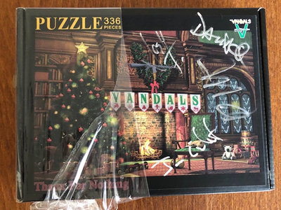 AUTOGRAPHED Thanx For Nothing Vandals Christmas Puzzle main photo