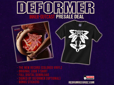 DEFORMER 'Inner-Outcast' Pre-sale deal [mixed yellow/red vinyl] main photo
