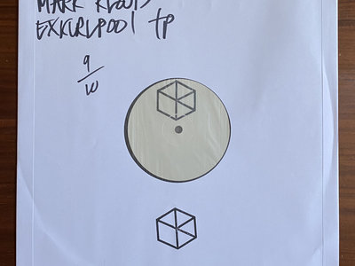 "Mark Kloud - Moonquake LP Sampler 12"" Black TEST PRESS main photo"