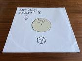 "Mark Kloud - Moonquake LP Sampler 12"" Black TEST PRESS photo"