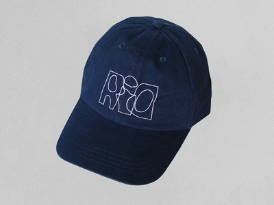 "R.i.O. ""LOW PROFILE 6 PANEL CAP"" (Navy Blue) main photo"