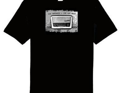Old Radio Design - Black T-shirt main photo