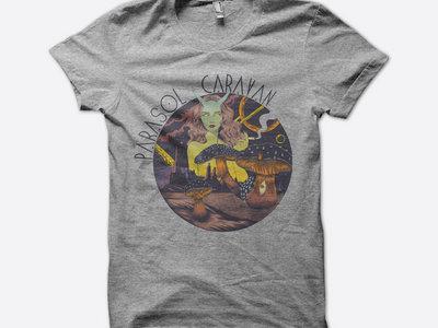 """SALE """"Parasol Caravan"""" Space T-Shirt main photo"""