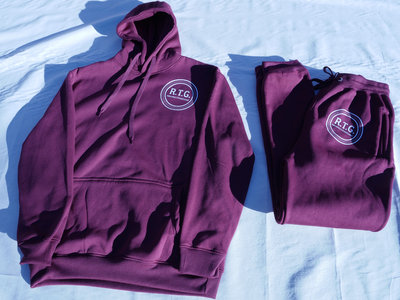 RTG Vinyl Decal Hoodie (cranberry) main photo