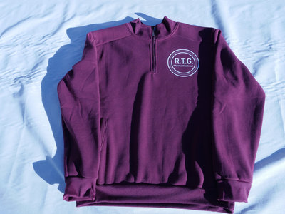 RTG Vinyl Decal Fleece (cranberry) main photo