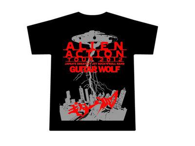 """2012 US Tour """"Alien Action!"""" T-Shirt - Black main photo"""