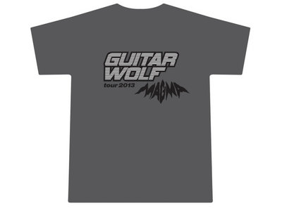 2013 Magma Tour T-Shirt - Gray main photo